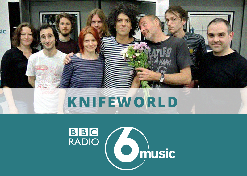 BBC Radio 6 Interview with Knifeworld drummer Ben Woollacott
