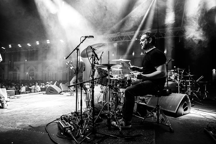 Ben Woollacott drummer freelance musician London
